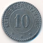 Цуффенхаузен., 10 пфеннигов (1907 г.)
