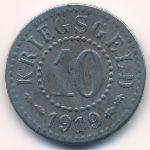 Франкфурт-на-Одере., 10 пфеннигов (1919 г.)