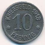 Глогувек., 10 пфеннигов (1918 г.)