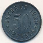 Аттендорн., 50 пфеннигов (1920 г.)