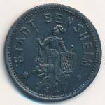 Бенсхайм., 50 пфеннигов (1917 г.)