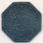 Бергедорф., 20 пфеннигов (1917 г.)
