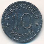 Берлебург., 10 пфеннигов (1917 г.)