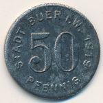 Буер., 50 пфеннигов (1919 г.)