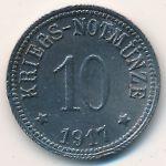 Кам., 10 пфеннигов (1917 г.)