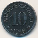 Крефельд., 10 пфеннигов (1918 г.)