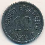 Крефельд., 10 пфеннигов (1919 г.)