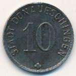 Донауэшинген., 10 пфеннигов (1918 г.)