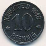Эммерих., 10 пфеннигов (1918 г.)