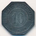 Фленсбург., 10 пфеннигов (1917 г.)