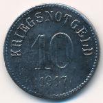 Фюрт., 10 пфеннигов (1917 г.)