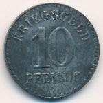 Фуртванген., 10 пфеннигов (1918 г.)