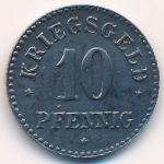 Гроссзальце., 10 пфеннигов (1918 г.)