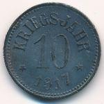 Хасфурт., 10 пфеннигов (1917 г.)