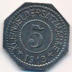 Херсфельд., 5 пфеннигов (1918 г.)