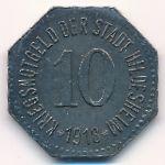 Хильдесхайм., 10 пфеннигов (1918 г.)