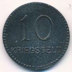 Кайзерслаутерн., 10 пфеннигов (1917 г.)