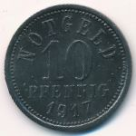 Киссинген., 10 пфеннигов (1917 г.)