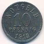 Киссинген., 10 пфеннигов (1918 г.)