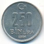 Турция, 250000 лир (2004 г.)