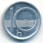 Чехия, 10 гелеров (1999 г.)