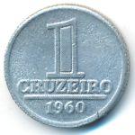Бразилия, 1 крузейро (1960–1961 г.)