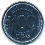 Бразилия, 100 крузейро (1993 г.)