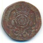 Великобритания, 20 пенсов (1987 г.)