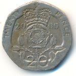 Великобритания, 20 пенсов (2000–2007 г.)