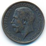 Великобритания, 1 фартинг (1914–1918 г.)
