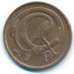 Ирландия, 1/2 пенни (1971–1982 г.)