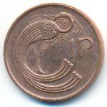 Ирландия, 1 пенни (1990–1998 г.)