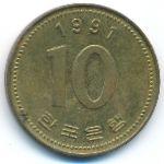 Южная Корея, 10 вон (1991–2005 г.)