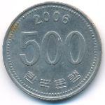 Южная Корея, 500 вон (2006 г.)
