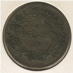 Martinique, 1 franc, 1897–1922