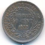 Мартиника, 50 сентим (1922 г.)