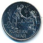 Австралия, 20 центов (2016 г.)