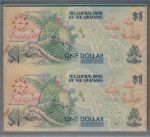 Багамские острова, 1+1 доллара (1992 г.)