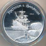 Антигуа и Барбуда, 2 доллара (2018 г.)