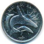 Гавайские острова, 1 доллар (1997 г.)