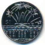 Восточные Карибы, 1 доллар (2002 г.)