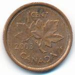 Канада, 1 цент (2003–2011 г.)