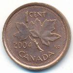 Канада, 1 цент (2004–2006 г.)
