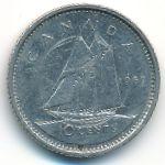 Канада, 10 центов (1969 г.)
