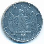 Италия, 1 лира (1939 г.)