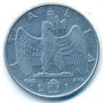 Италия, 1 лира (1940–1942 г.)