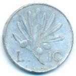 Италия, 10 лир (1950 г.)