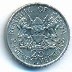 Кения, 25 центов (1969 г.)