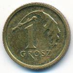 Польша, 1 грош (2014 г.)