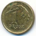 Польша, 1 грош (2015 г.)